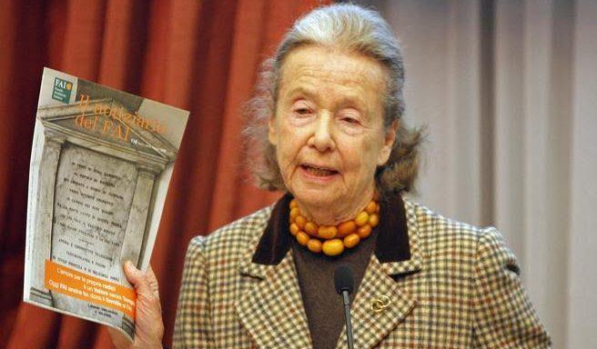 Se n'è andata Giulia Maria Crespi, l'appassionata pioniera del bio-dinamico