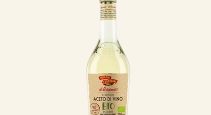 Monari Federzoni presenta il nuovo Aceto di Vino Bianco Biologico