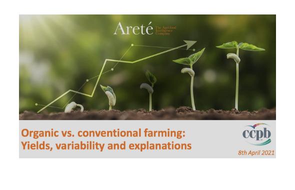 Rese in campo nel bio. Lo studio di Areté per CCPB dipinge uno scenario variabile e inaspettato